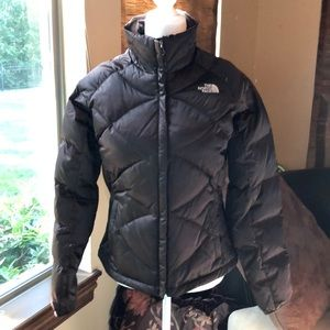 North Face Brown Puffy Jacket